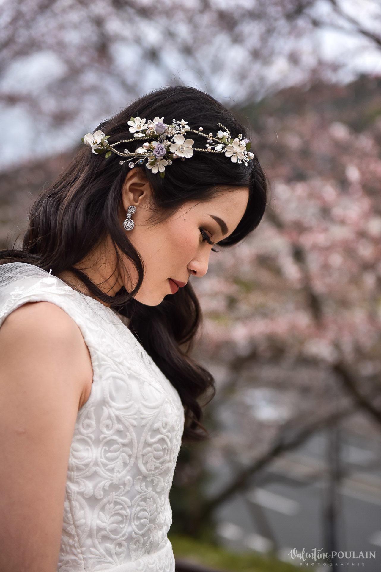 Shooting mariée Japon - Valentine Poulain profil