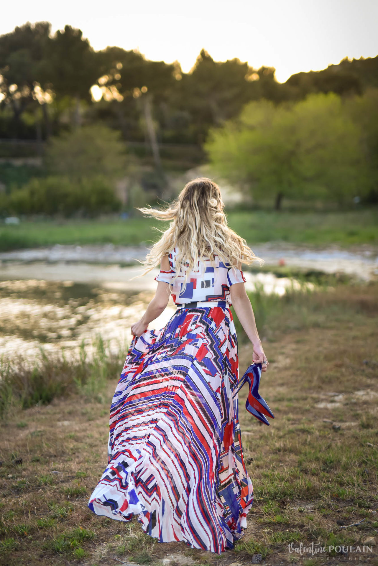 Shooting portrait Provence - Valentine Poulain Louboutin