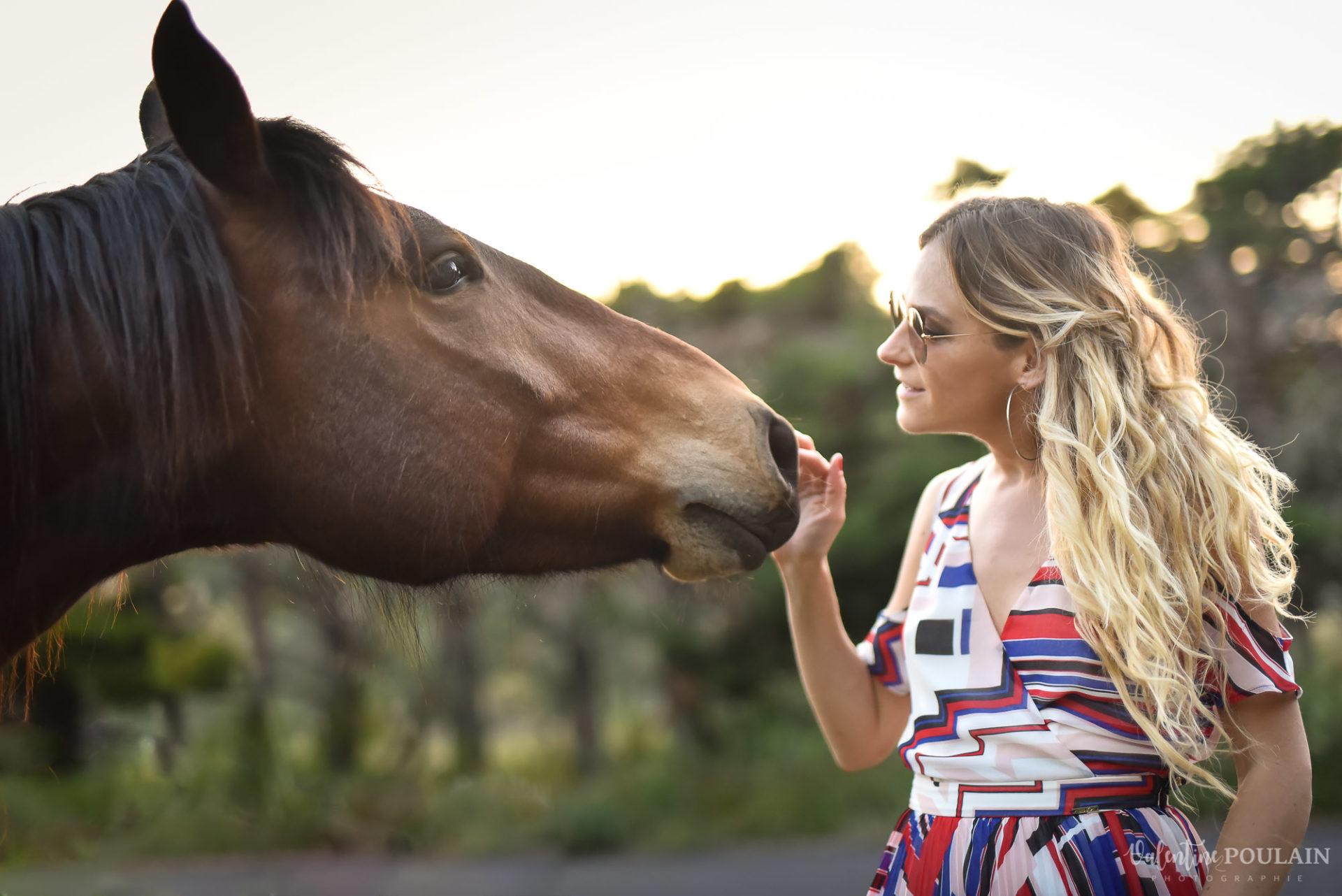 Shooting portrait Provence - Valentine-Poulain cheval