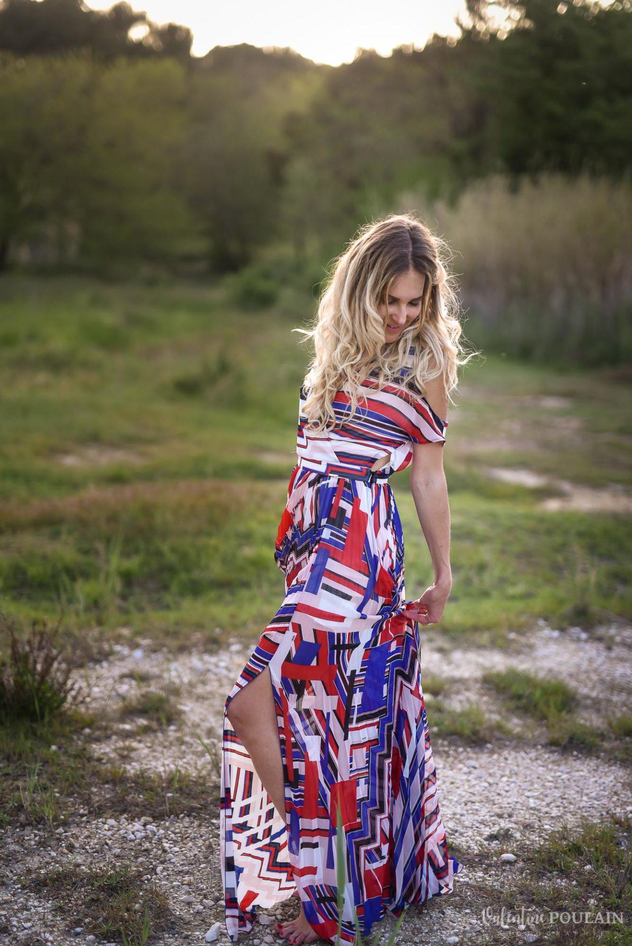 Shooting portrait Provence - Valentine Poulain tenue