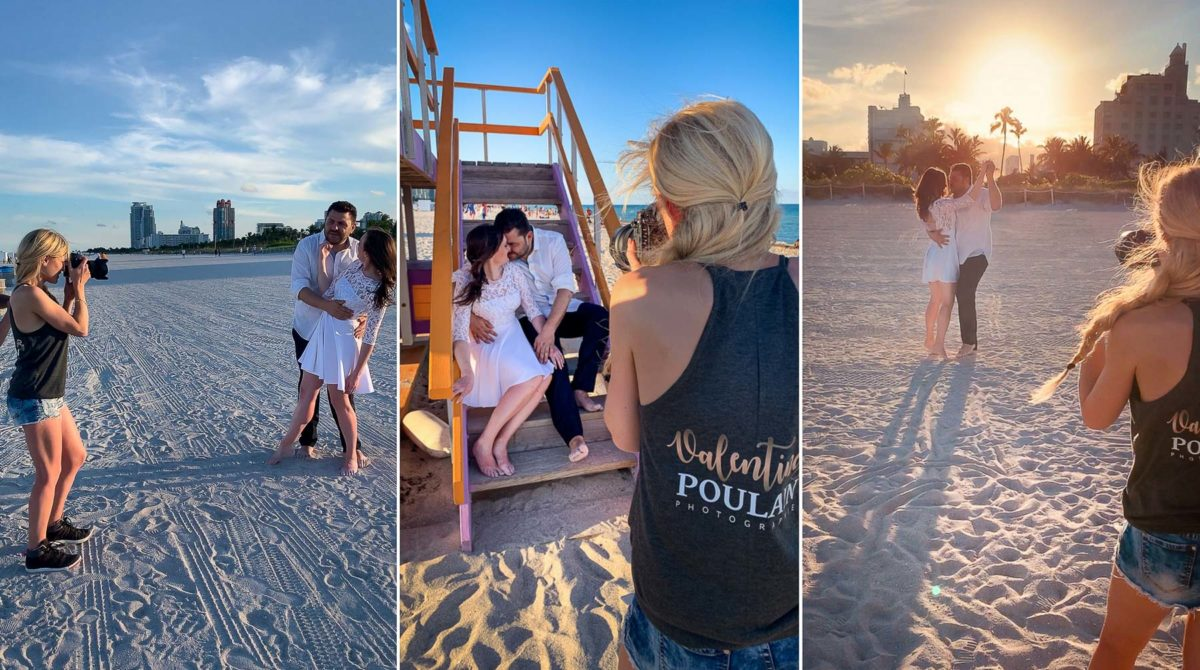 Behind the scenes Miami Day after - Valentine Poulain
