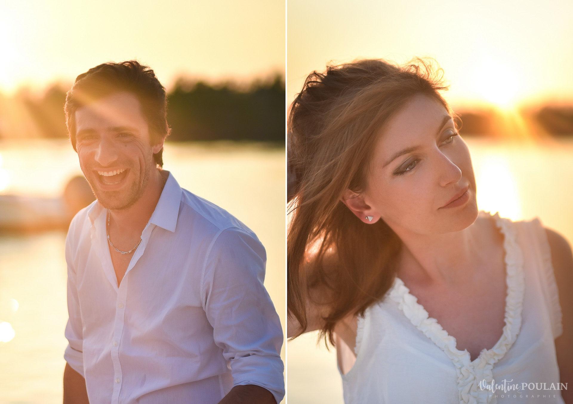 Couple Miam Keys Florida - Valentine Poulain portraits