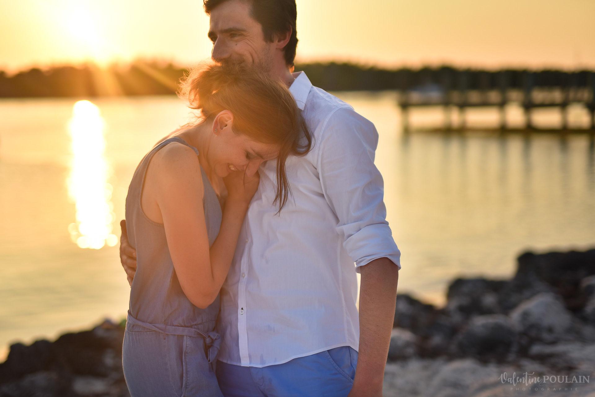 Couple Miam Keys Florida - Valentine Poulain rire