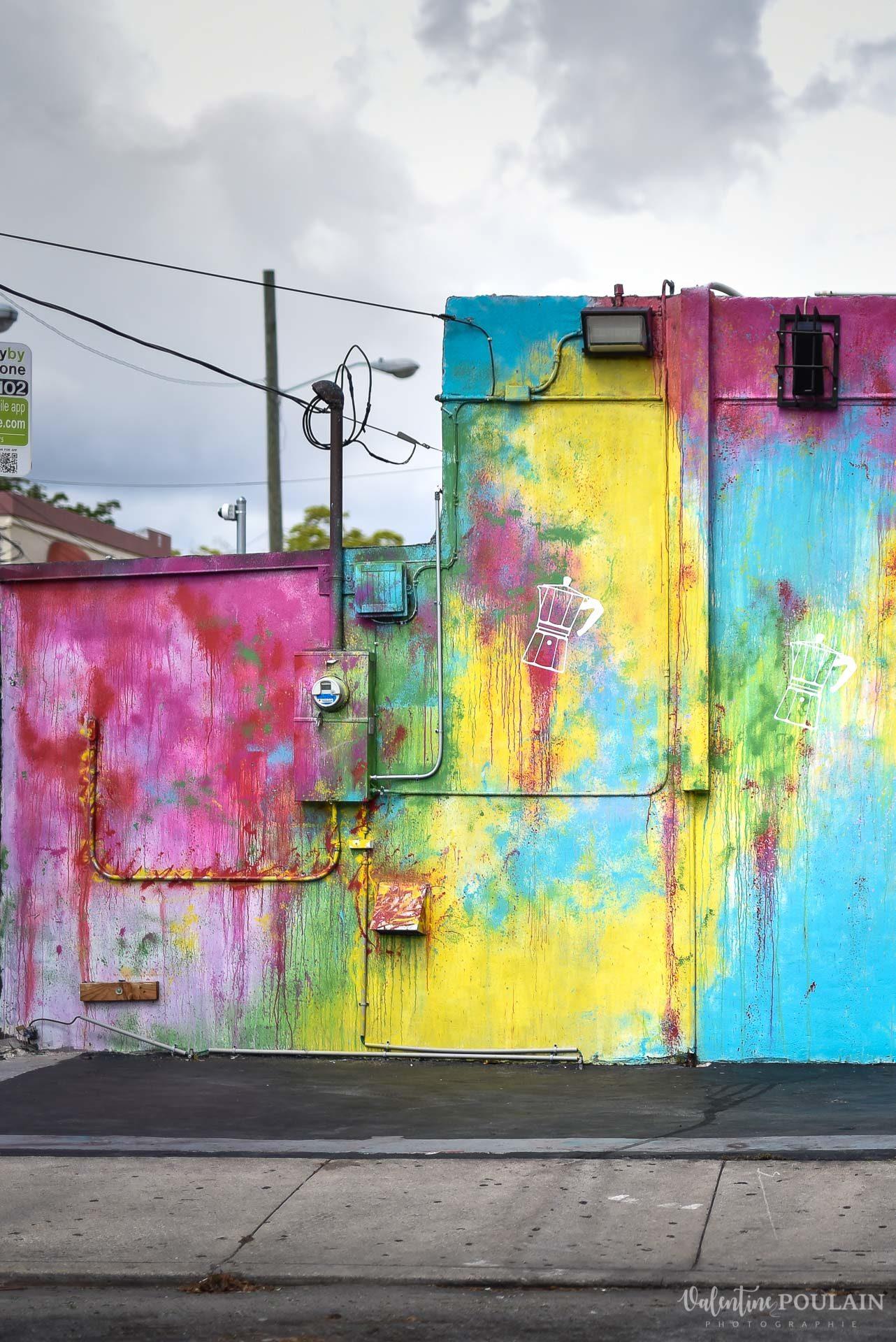 Couple Miami Wynwood - Valentine Poulain couleurs
