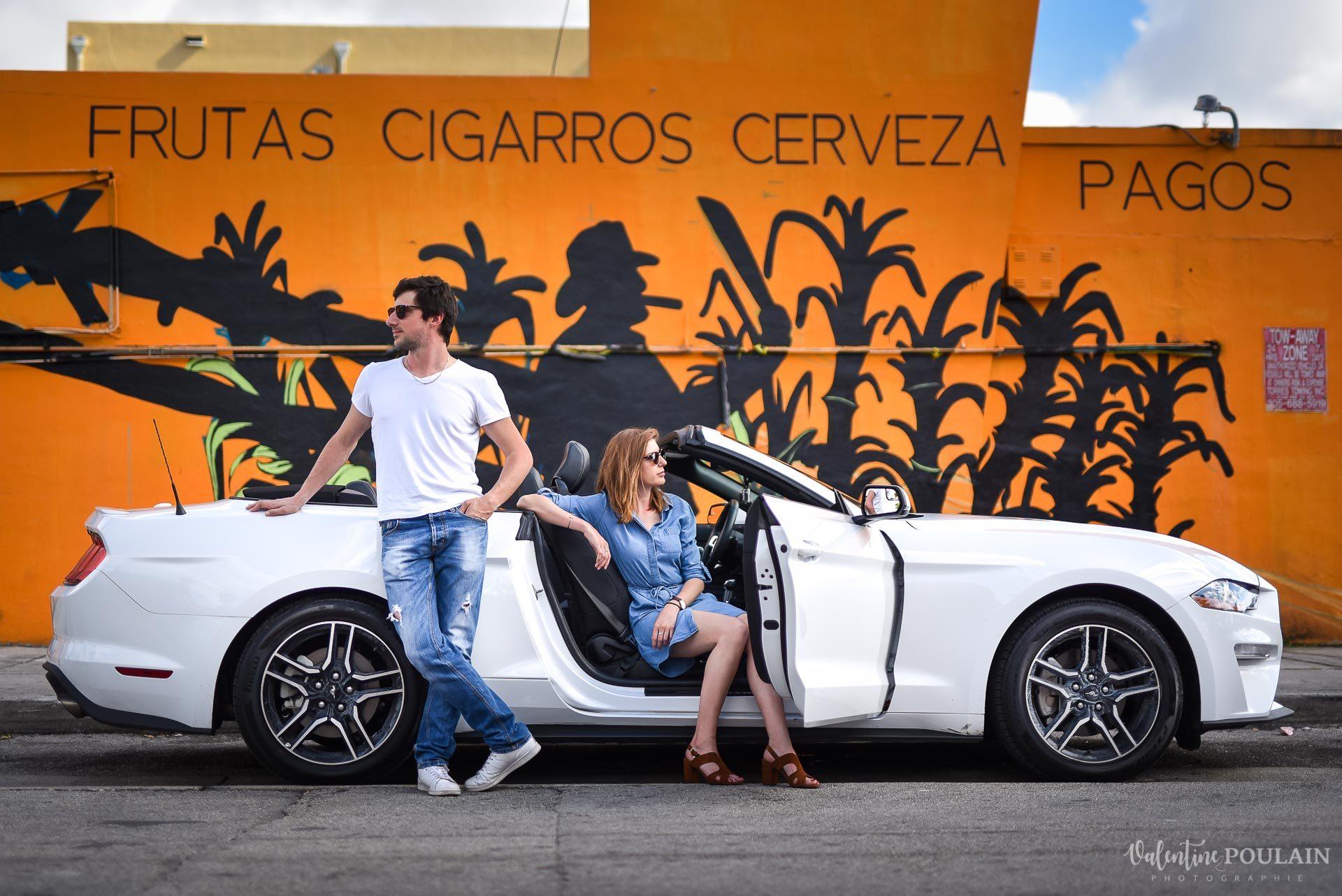 Couple Miami Wynwood - Valentine Poulain little havana
