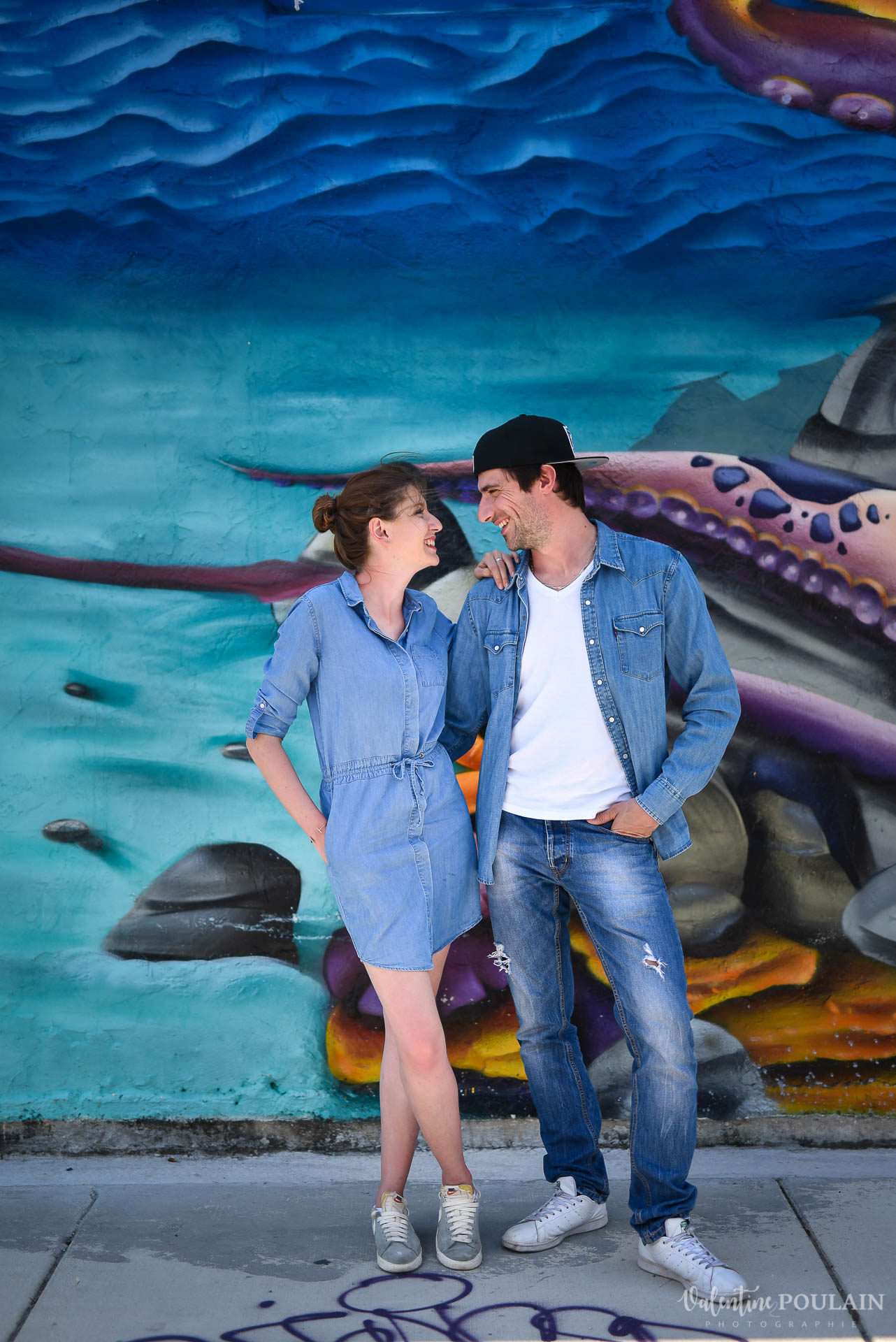 Couple Miami Wynwood - Valentine Poulain look