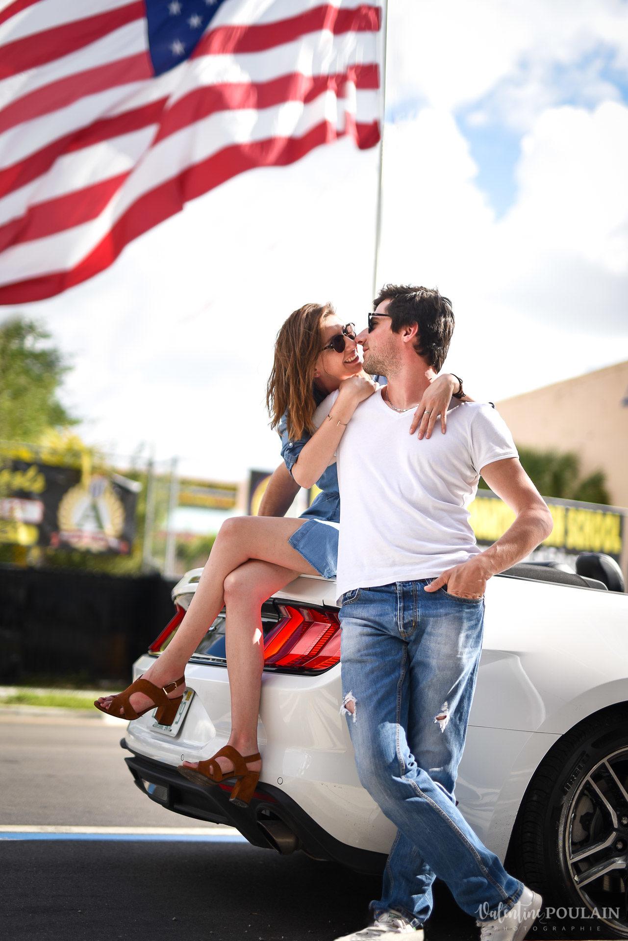 Couple Miami Wynwood - Valentine Poulain mustang