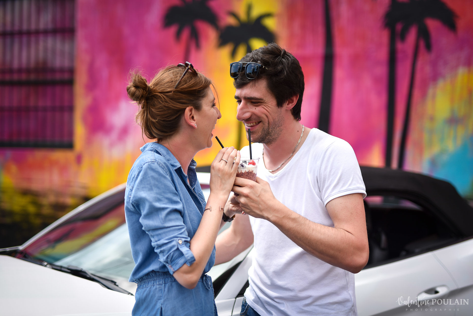 Couple Miami Wynwood - Valentine Poulain pailles