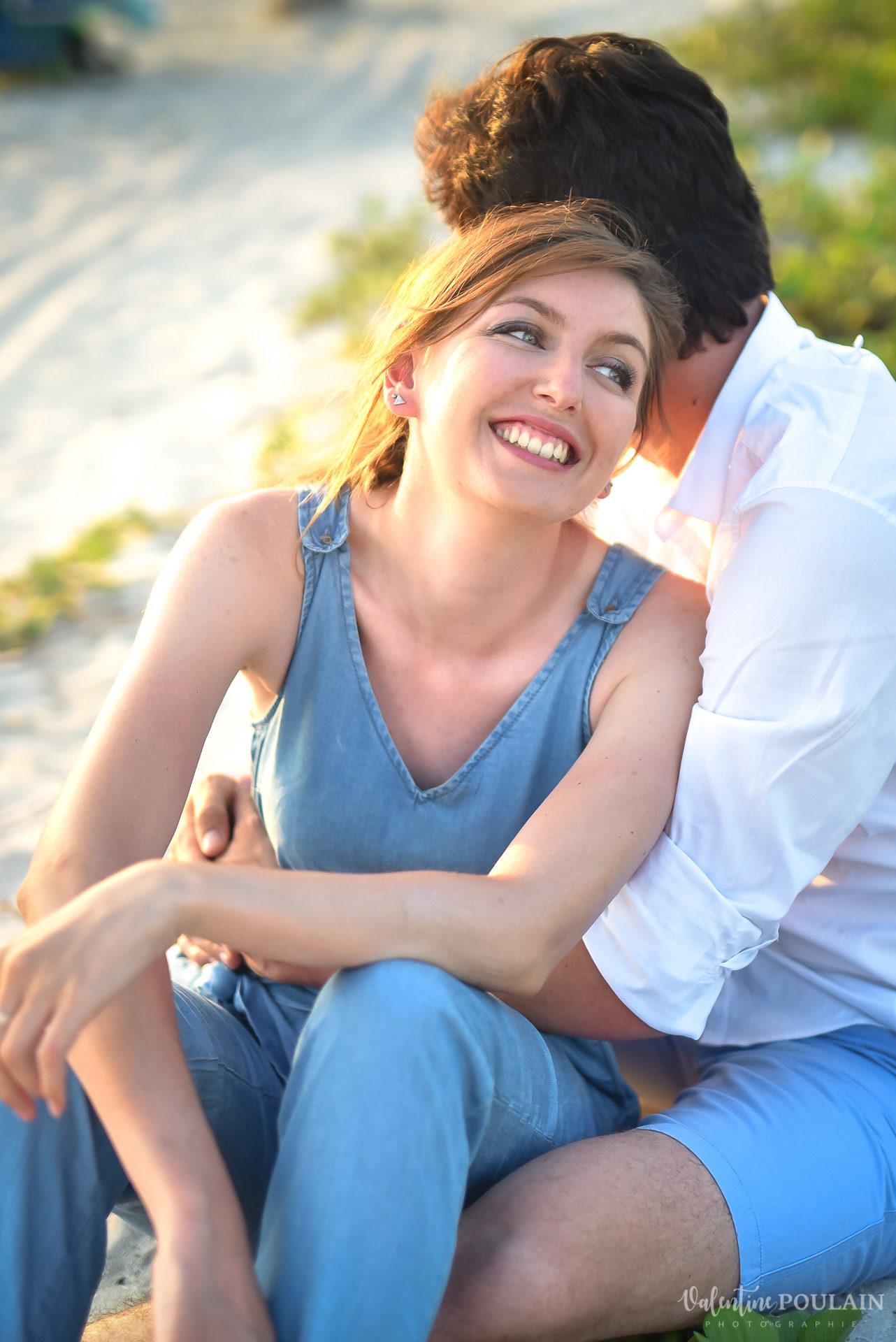 Couple Miami Wynwood - Valentine Poulain rire