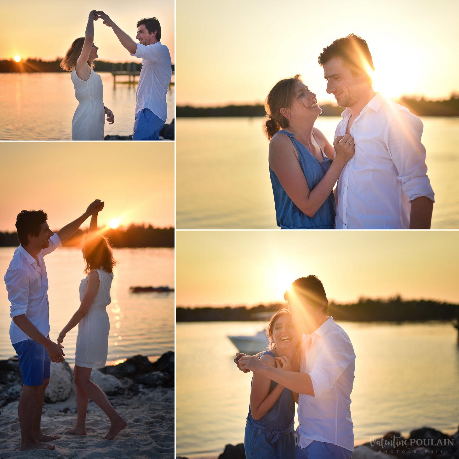 Couple Miami Florida - Valentine Poulain
