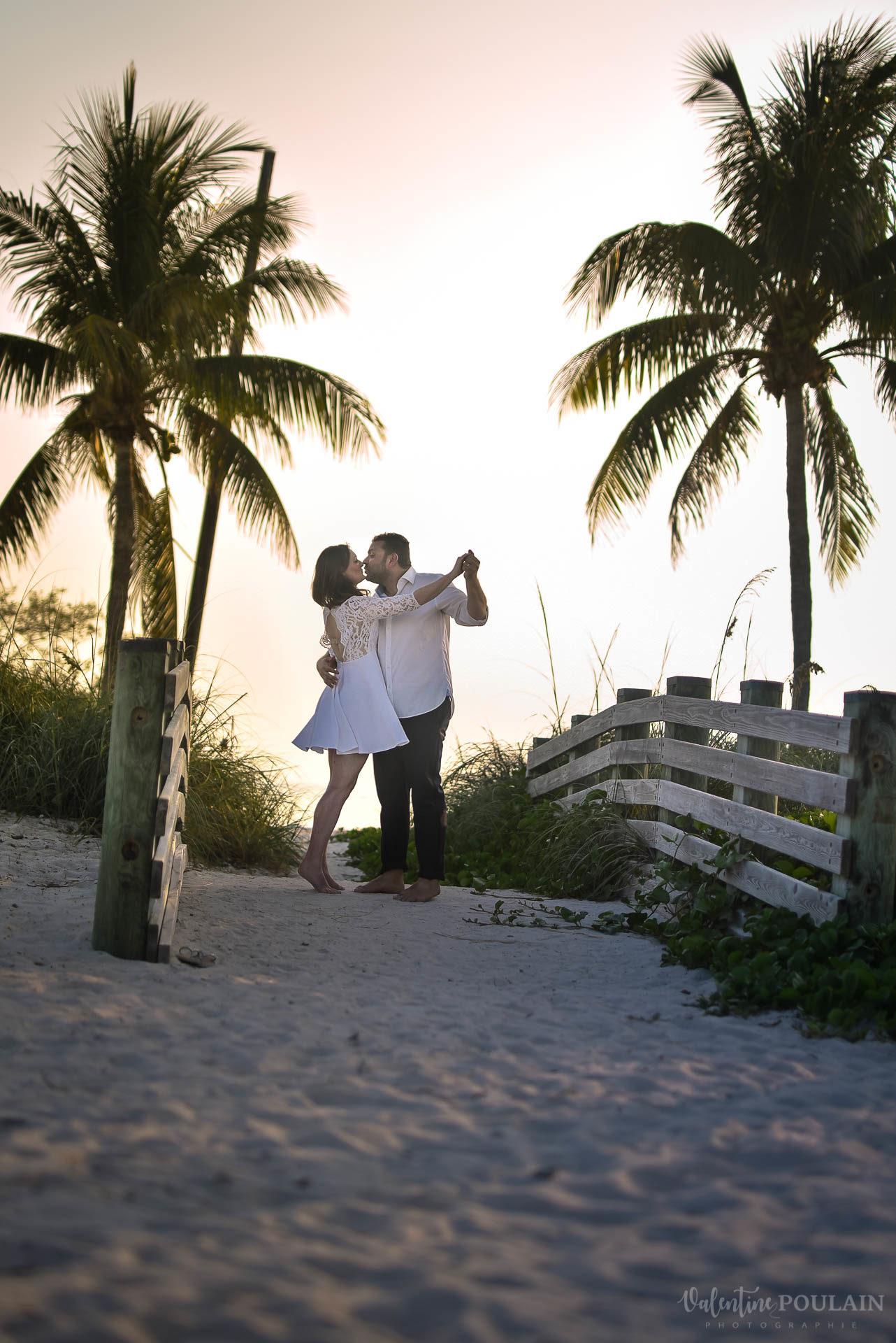 palmiers danse Miami - Valentine Poulain