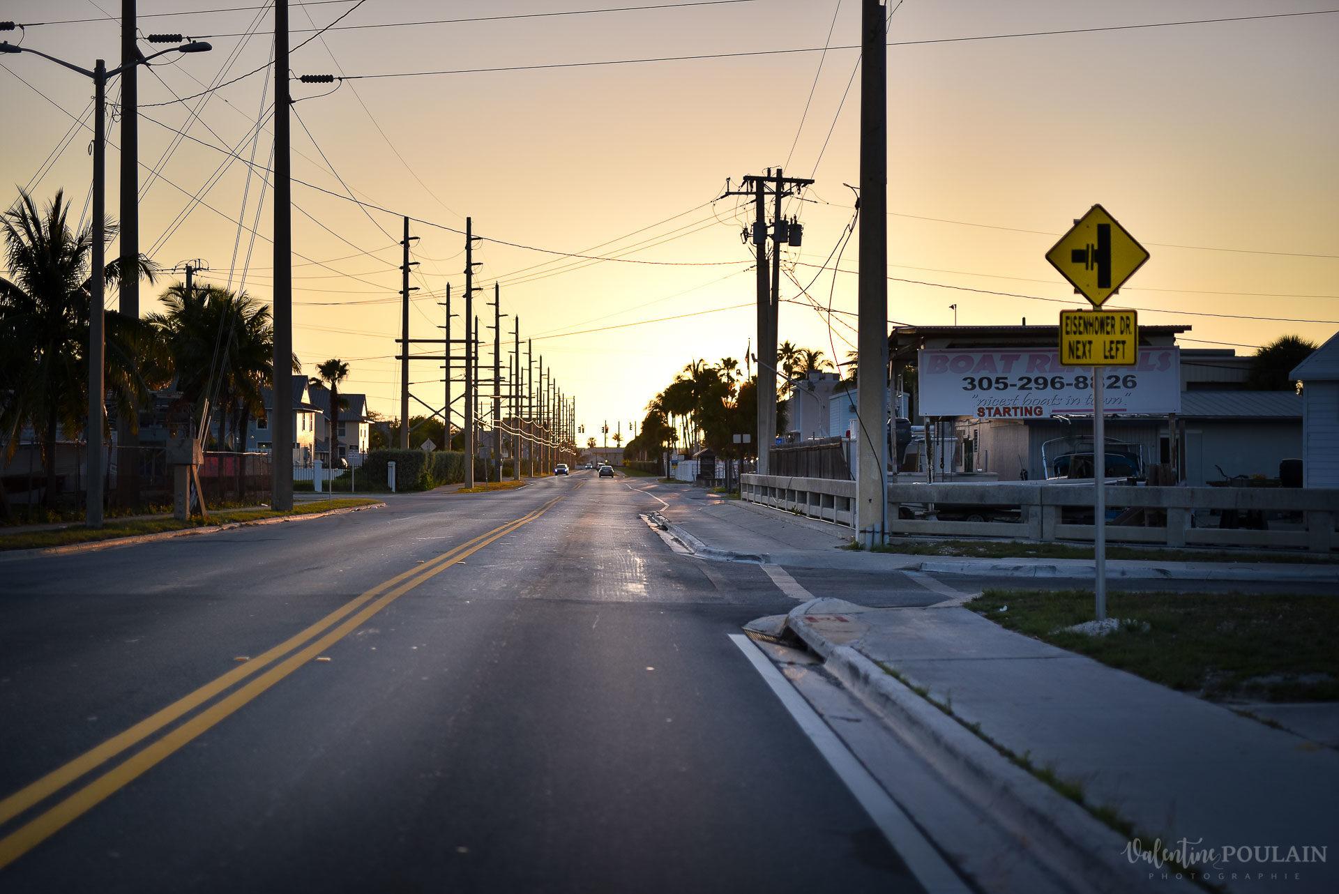 sunset landscape Miami