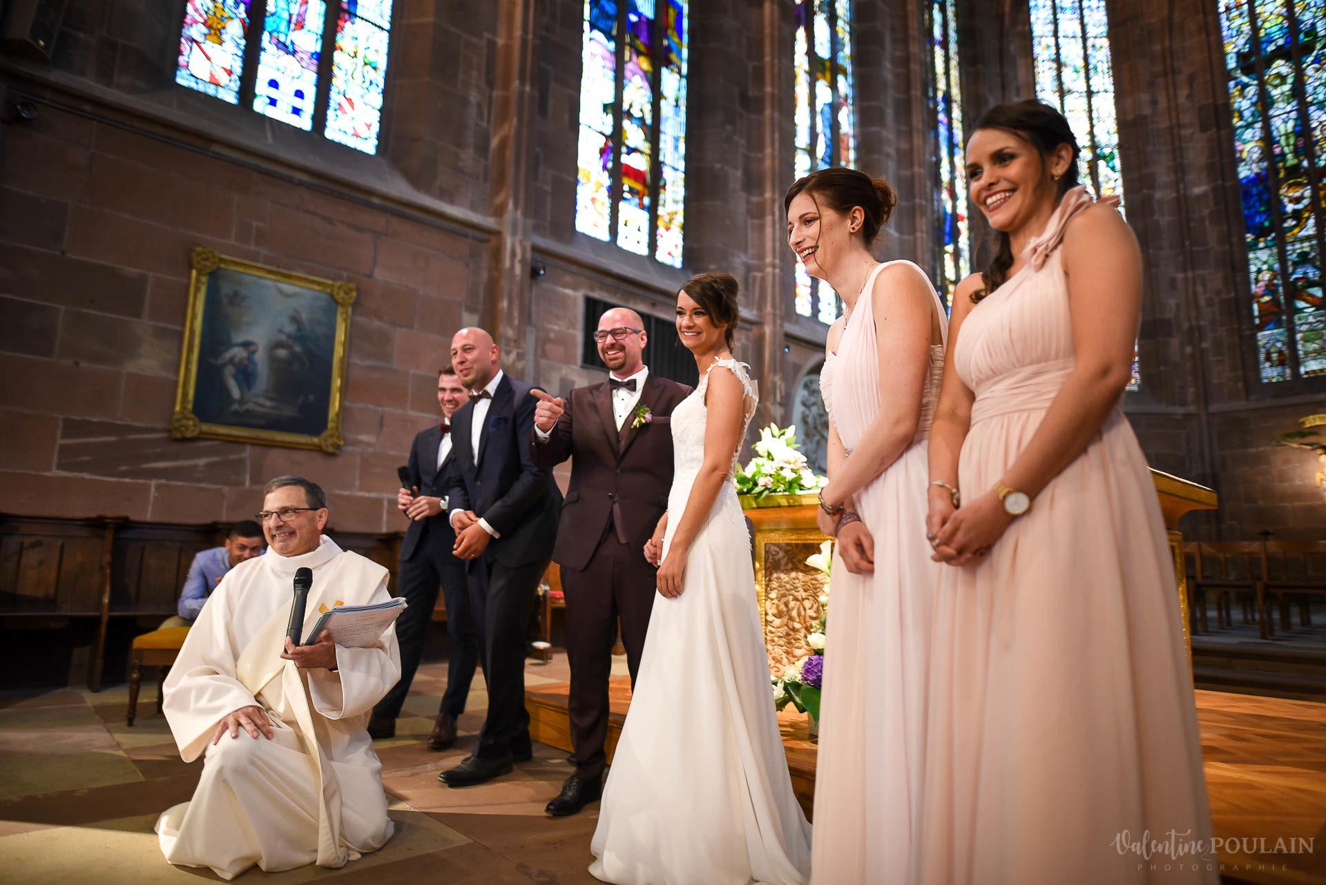Mariage convivial Saverne - Valentine Poulain église