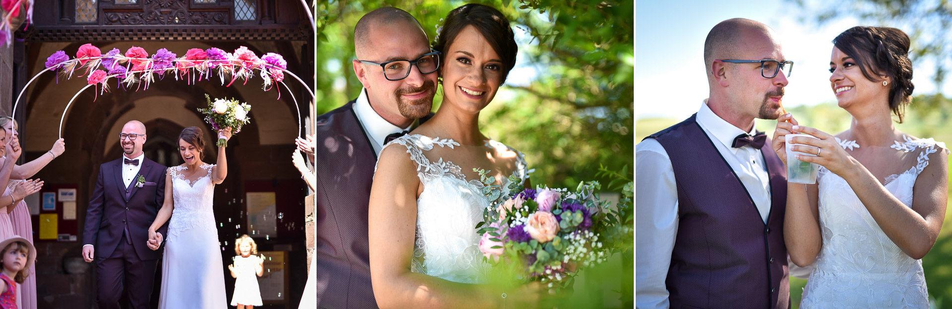 Mariage convivial Saverne - Valentine Poulain couple