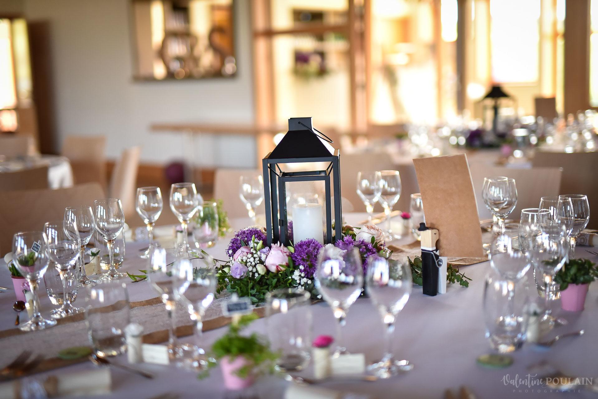 Mariage convivial Saverne - Valentine Poulain table