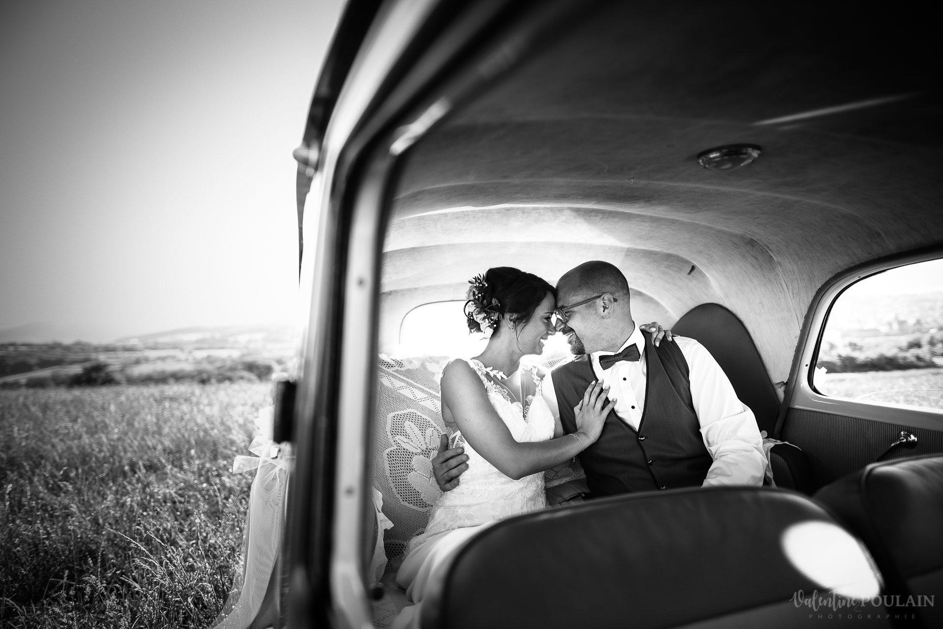 Mariage convivial Saverne - Valentine Poulain voiture