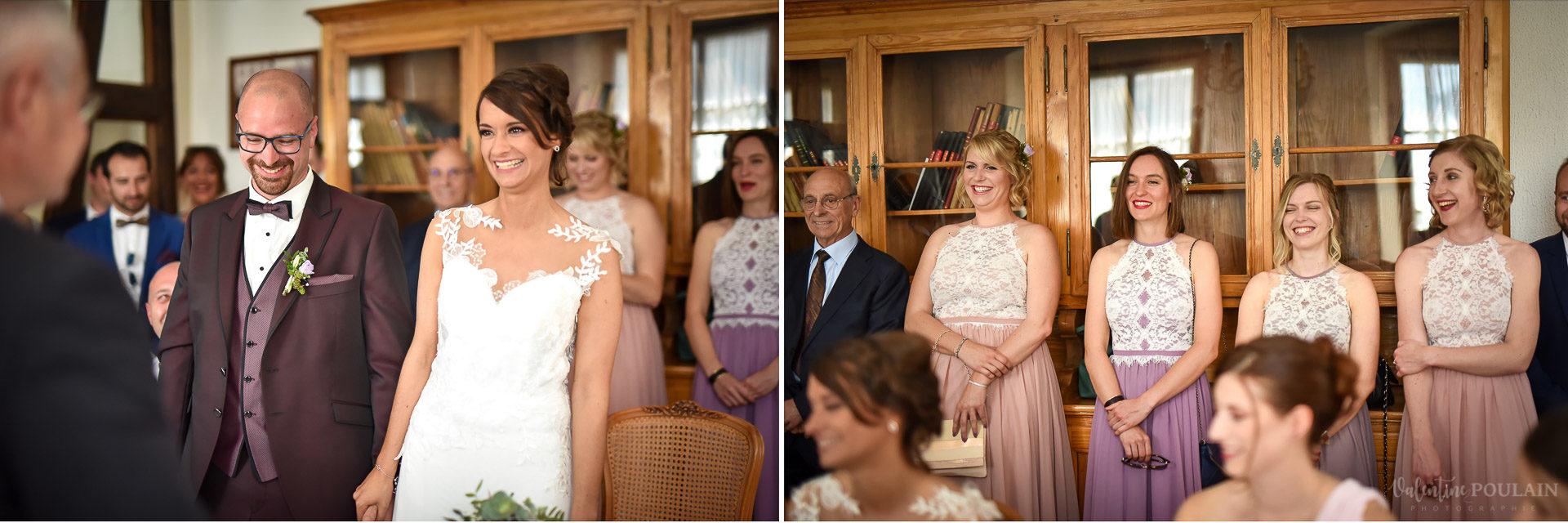 Mariage convivial Saverne - Valentine Poulain rire