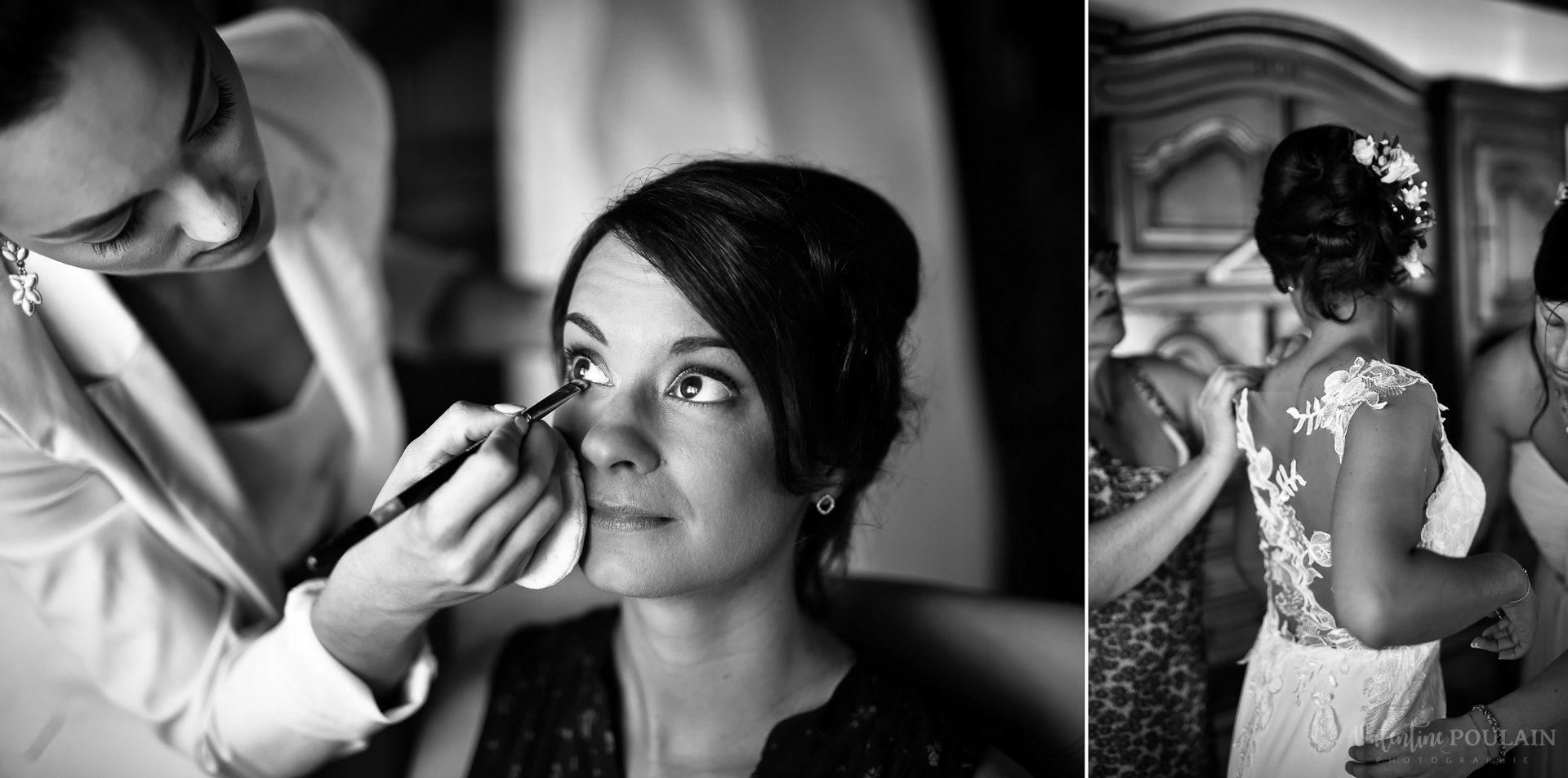 Mariage convivial Saverne - Valentine Poulain makeup