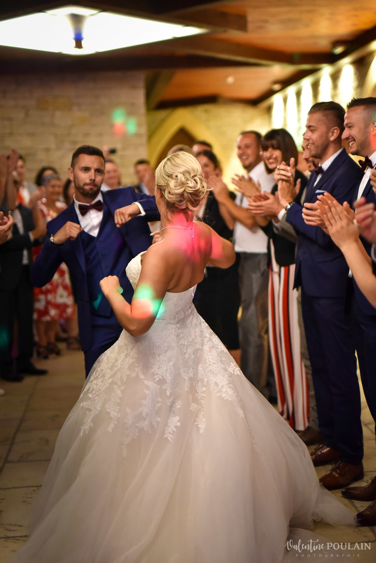 Mariage fun Petit Wettolsheim - Valentine Poulain danse