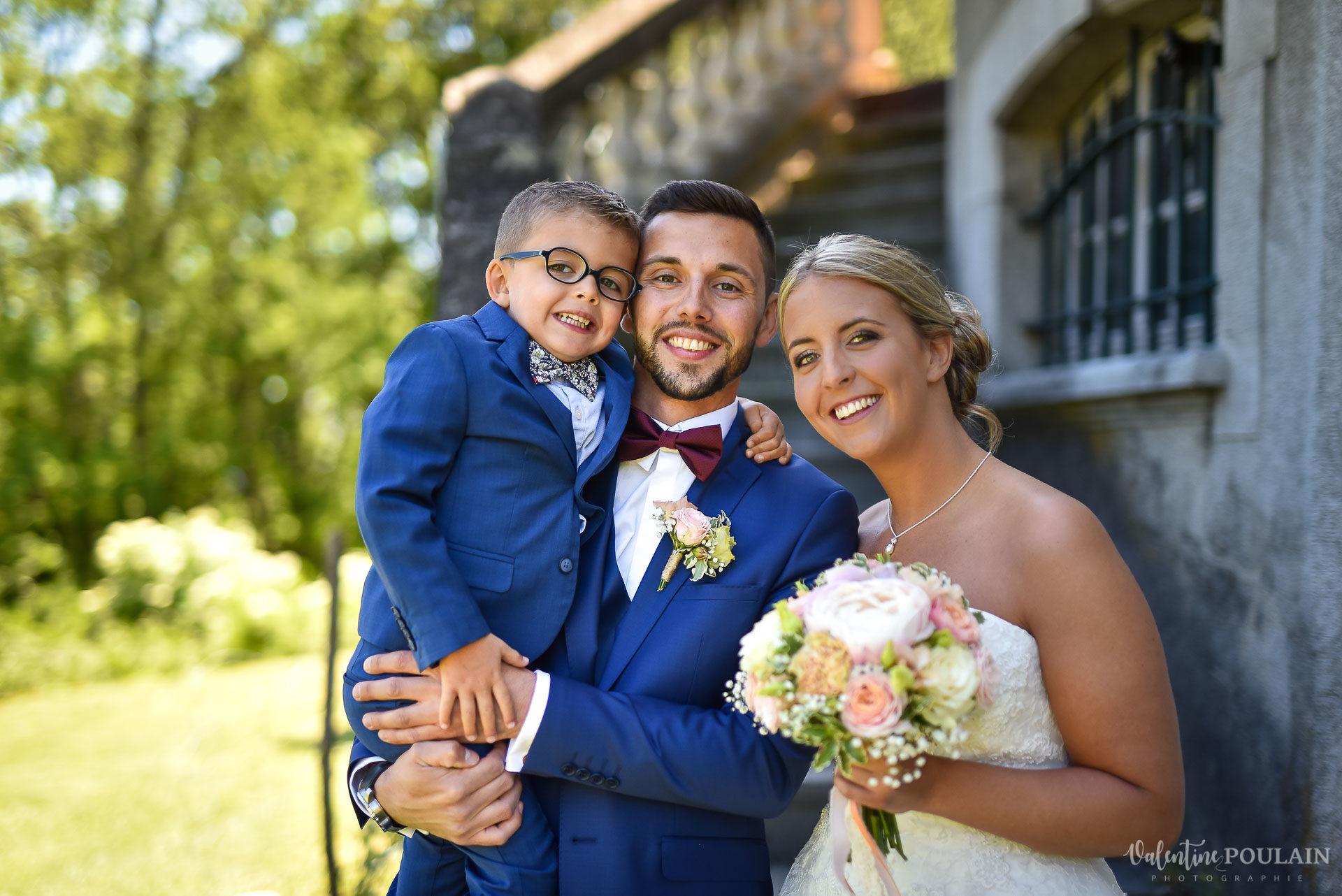 Mariage fun Petit Wettolsheim - Valentine Poulain family