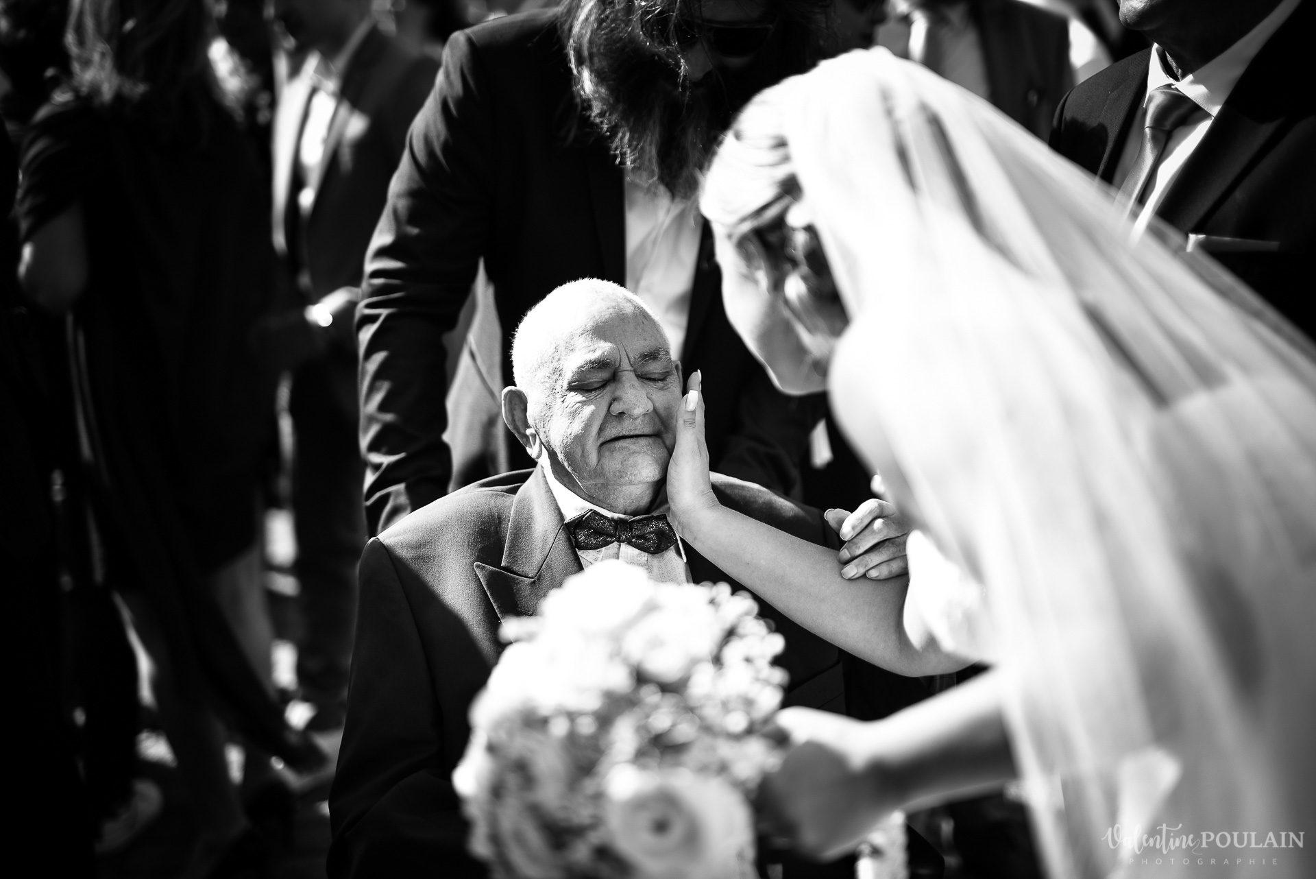 Mariage fun Petit Wettolsheim - Valentine Poulain papy