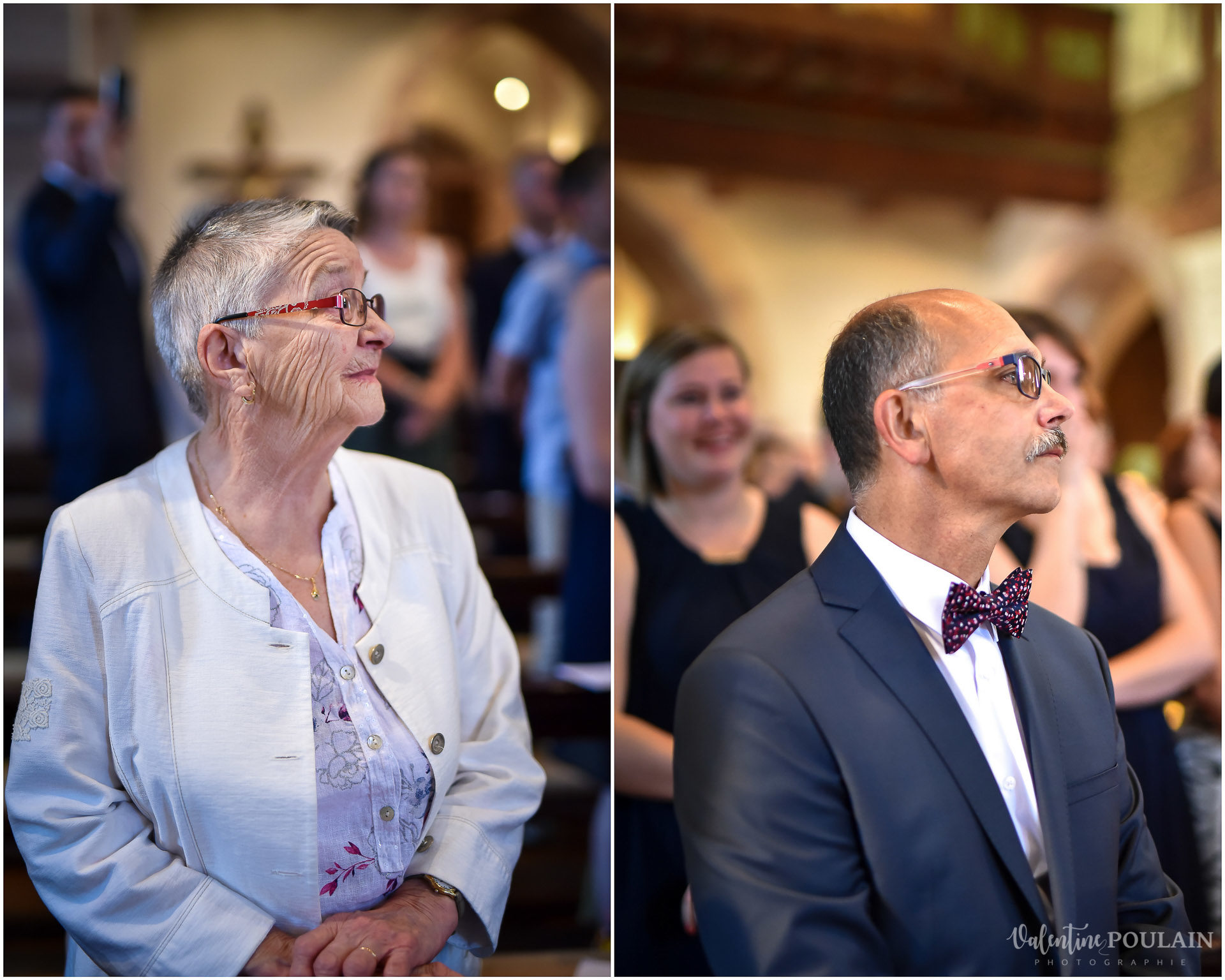 Mariage fun Petit Wettolsheim - Valentine Poulain parents