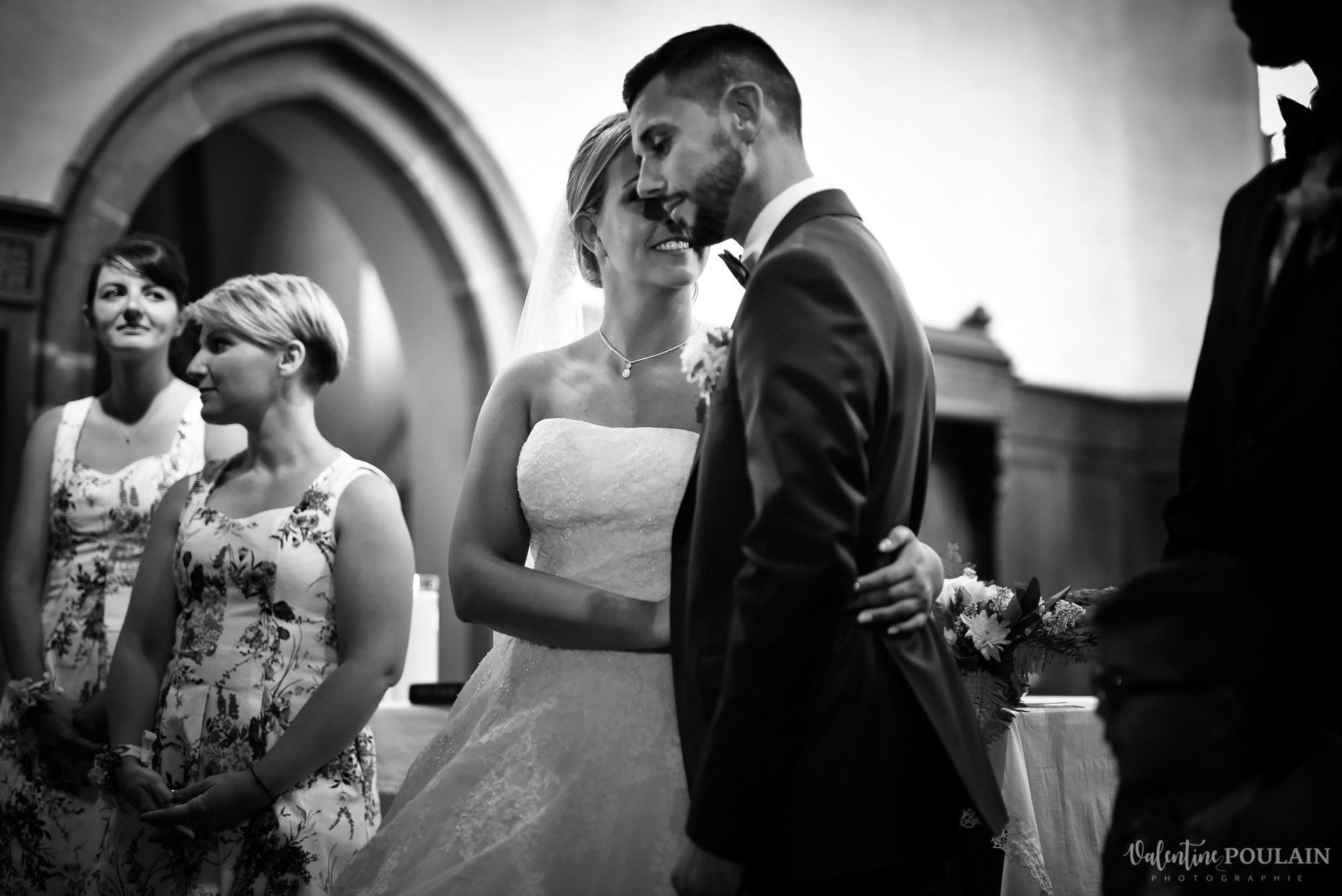 Mariage fun petit wetto eglise