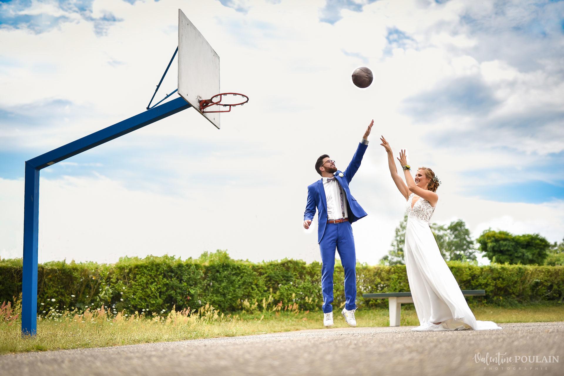 Mariage basket - Valentine Poulain