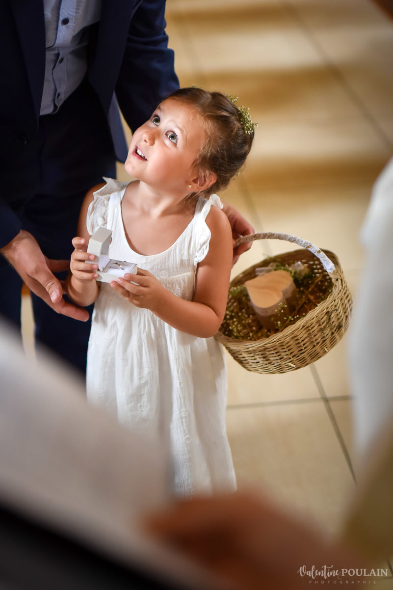 Mariage basketteurs - Valentine Poulain enfant