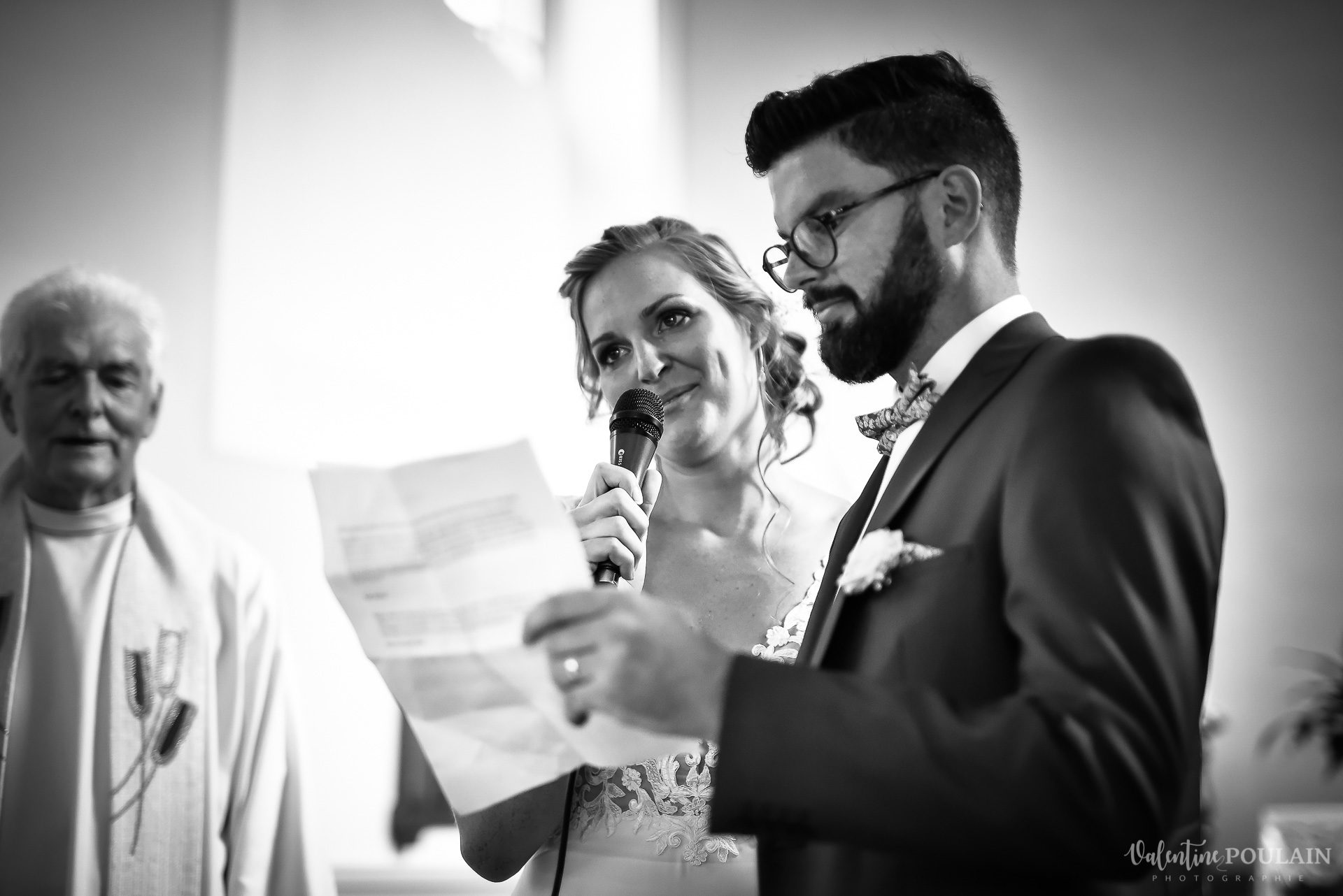 Mariage basketteurs - Valentine Poulain discours