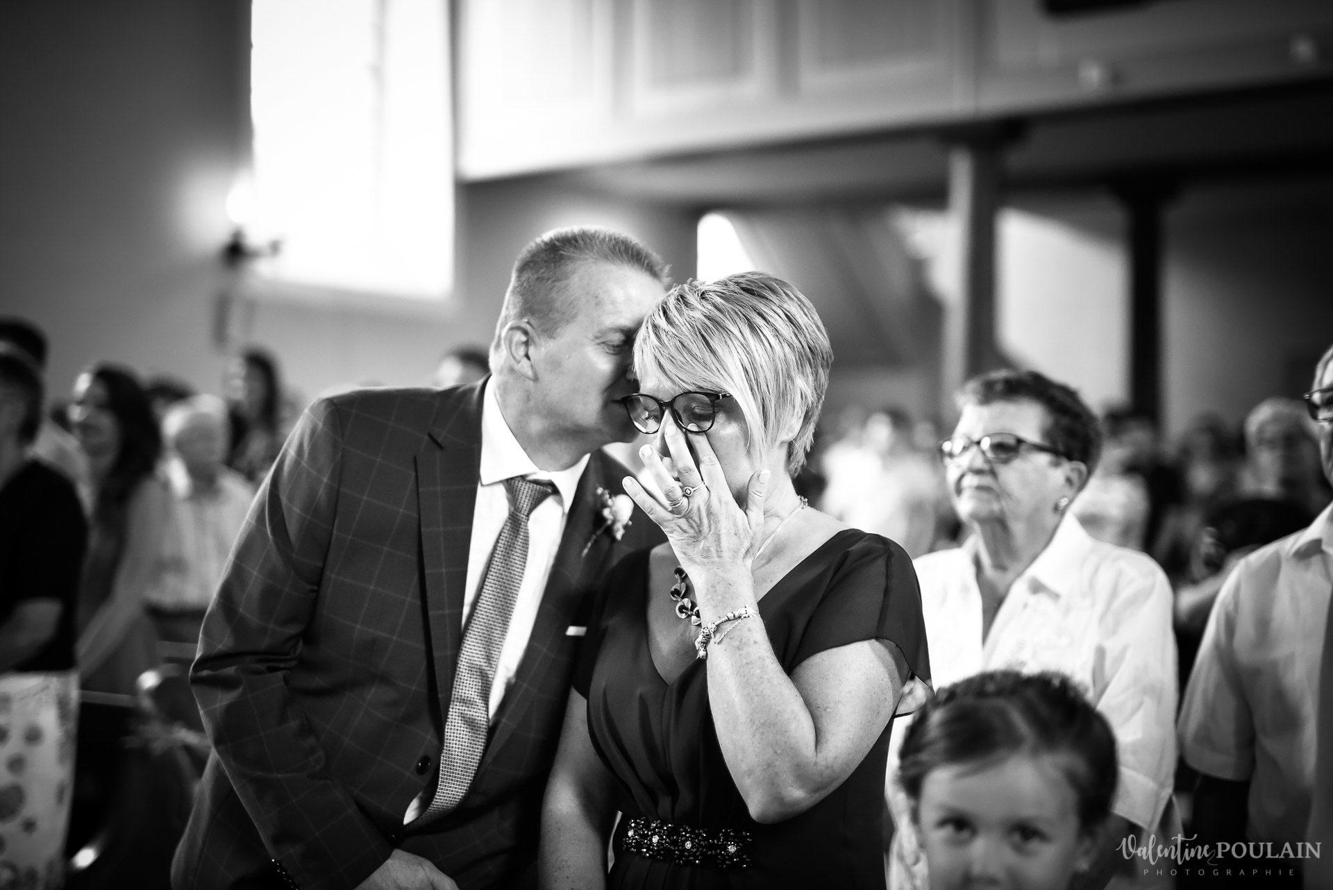 Mariage basketteurs - Valentine Poulain parents