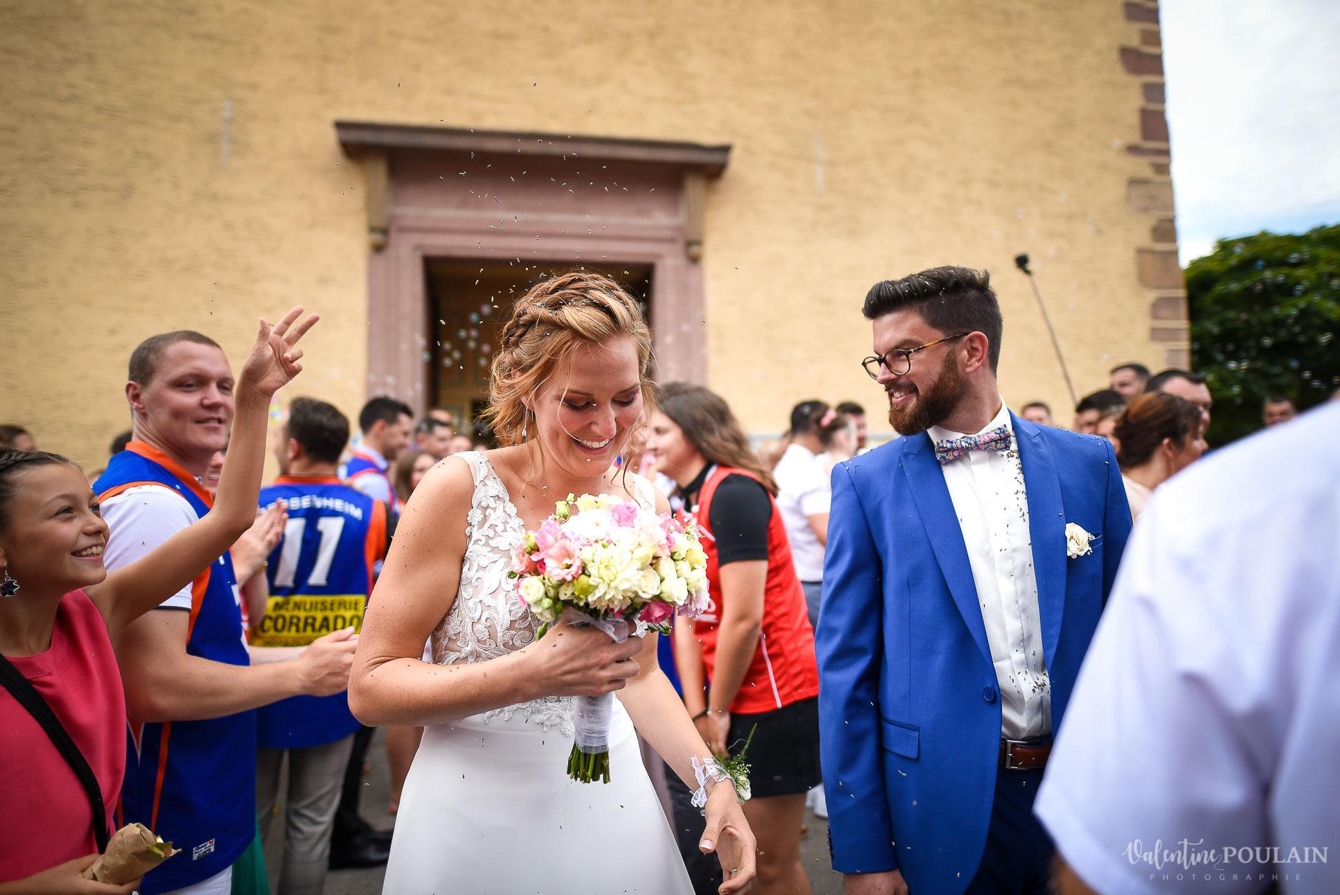 Mariage basketteurs - Valentine Poulain haie