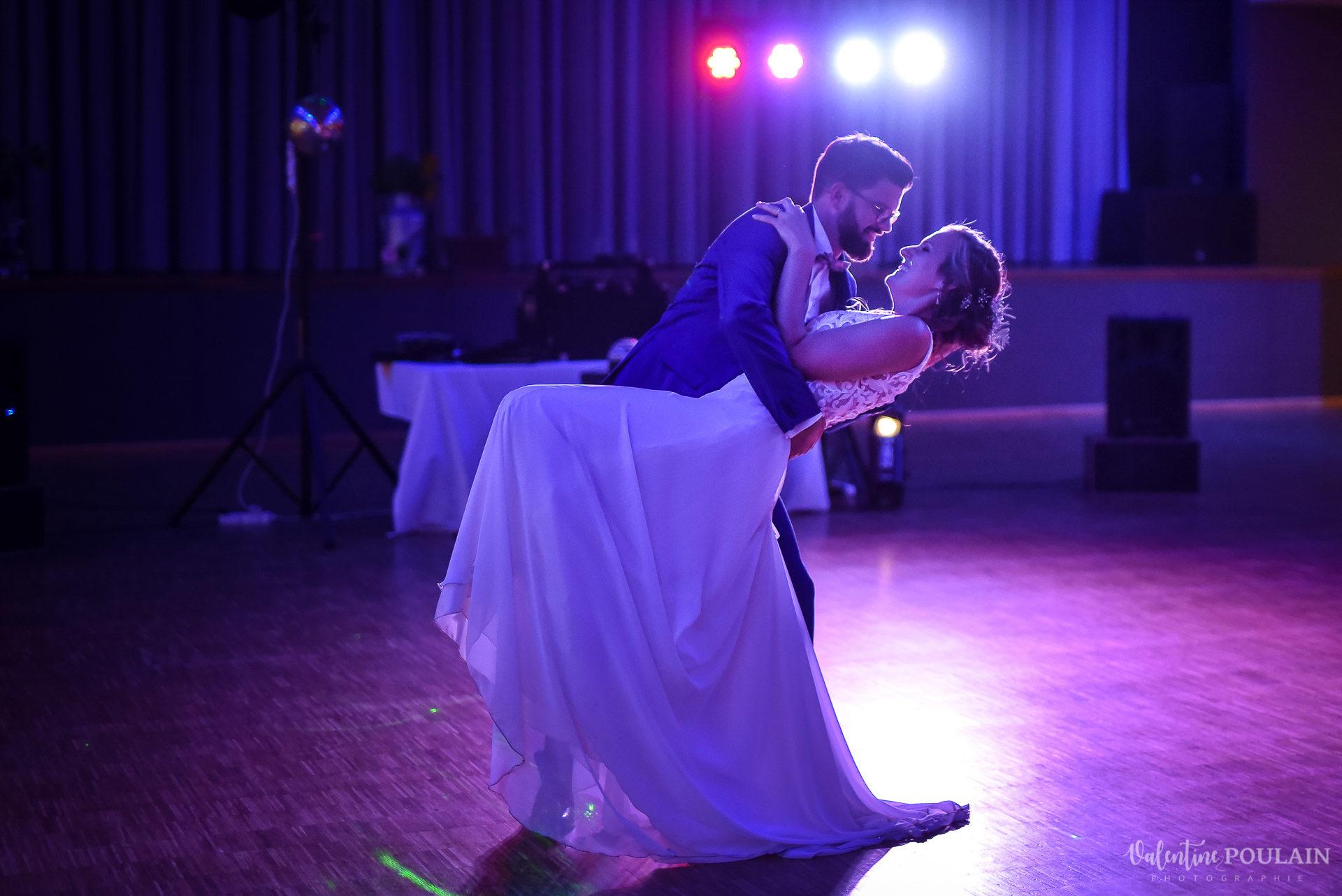 Mariage basketteurs - Valentine Poulain danse
