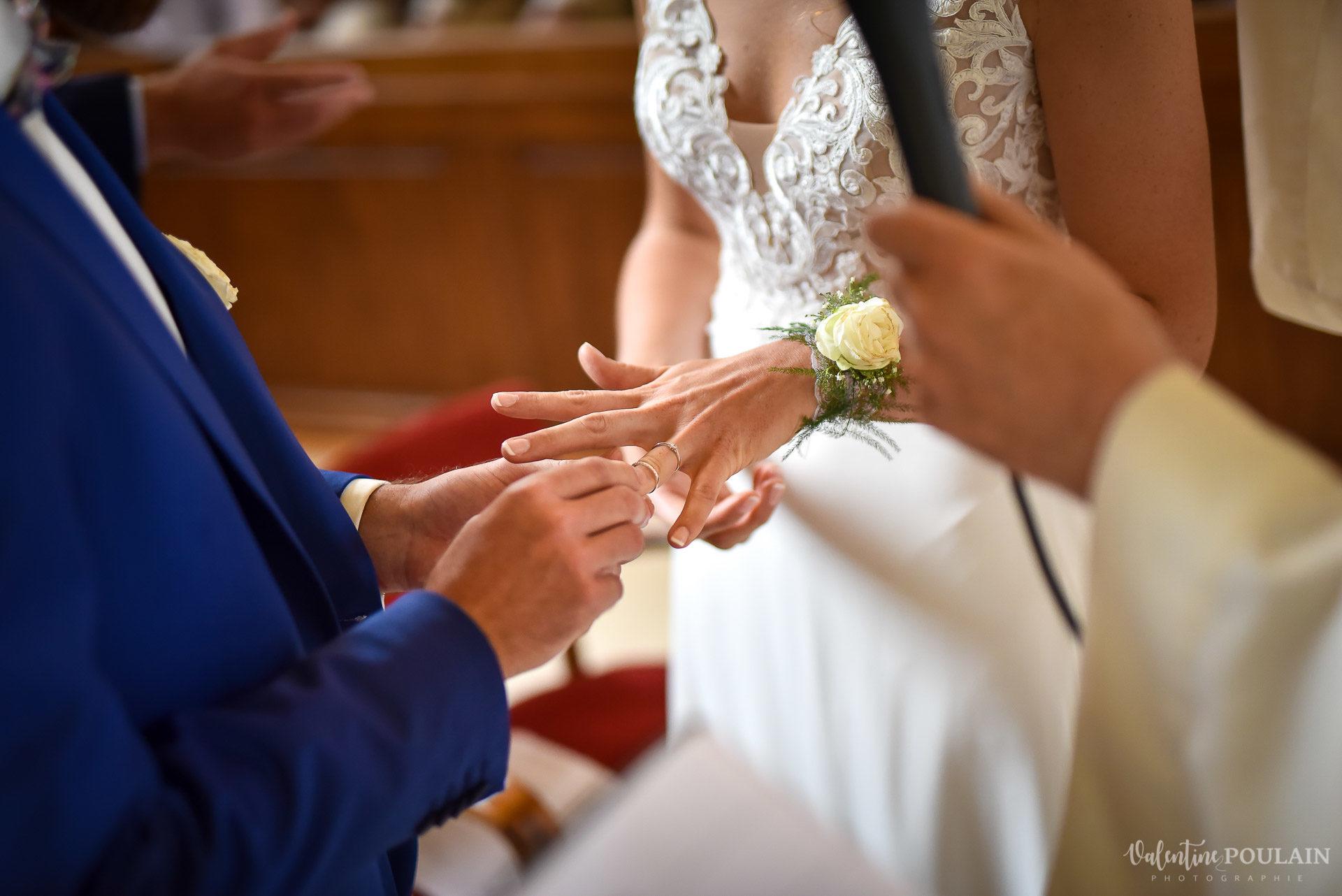 Mariage basketteurs - Valentine Poulain alliance