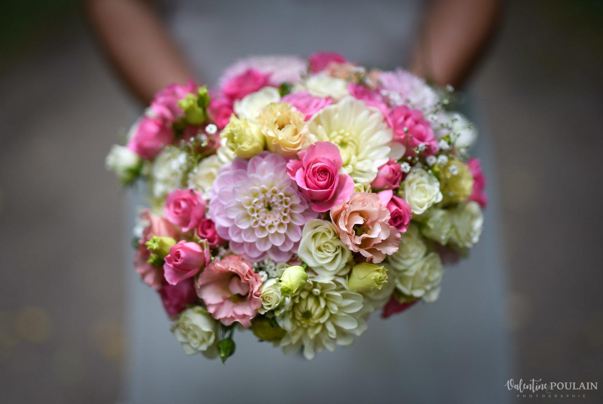 Mariage basketteurs - Valentine Poulain bouquet