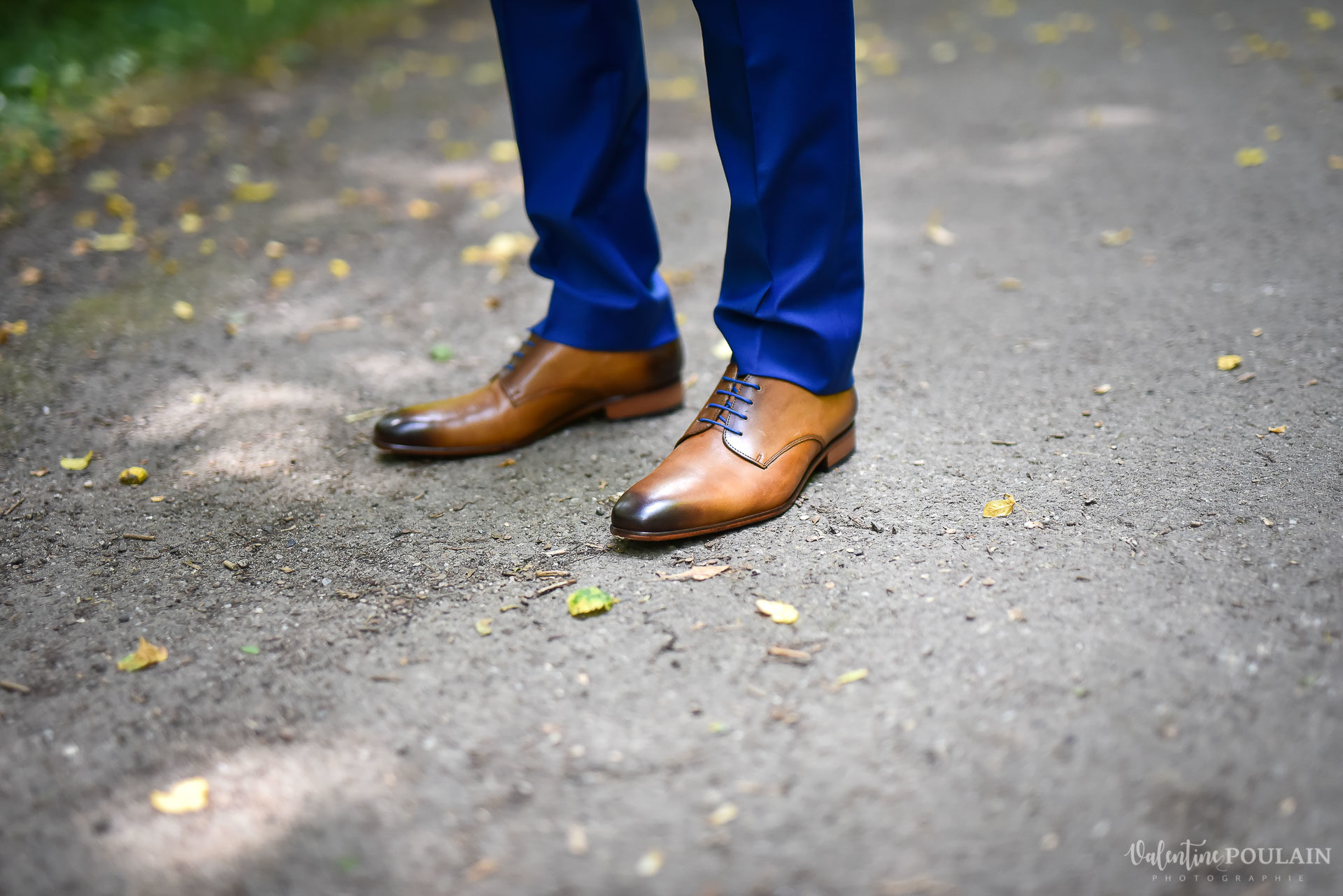 Mariage basketteurs - Valentine Poulain chaussures