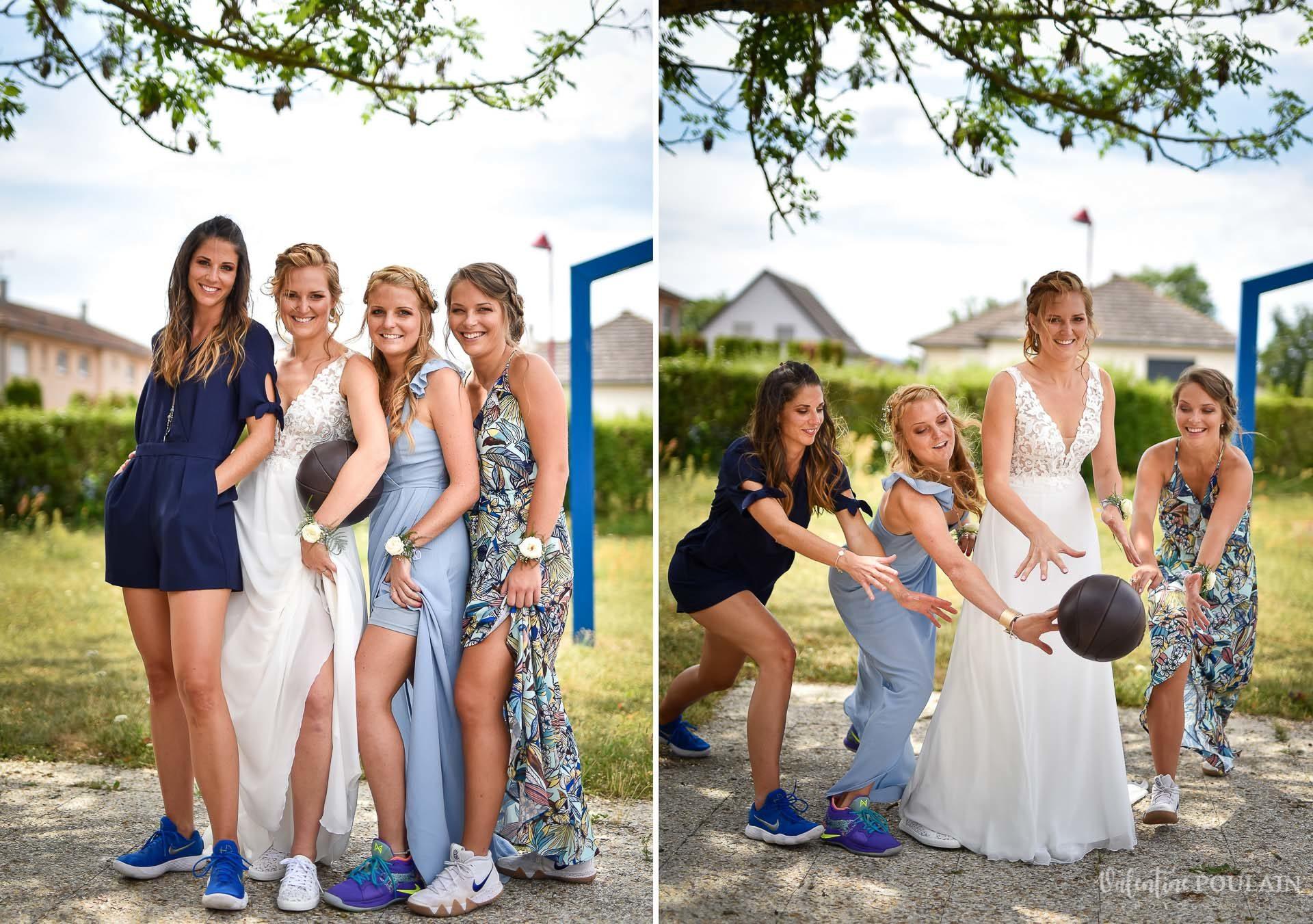 Mariage basketteurs - Valentine Poulain girls