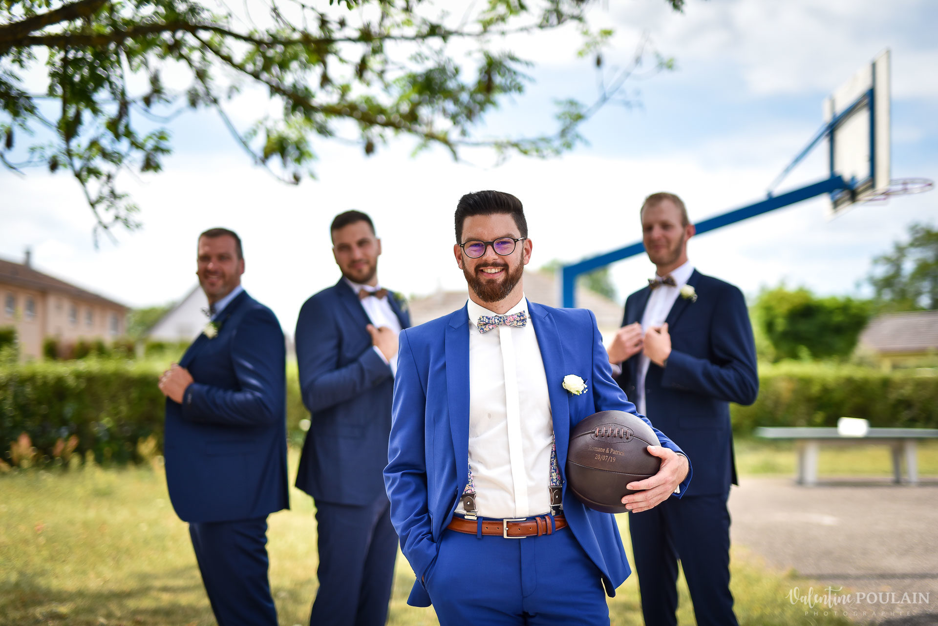 Mariage basketteurs - Valentine Poulain mecs