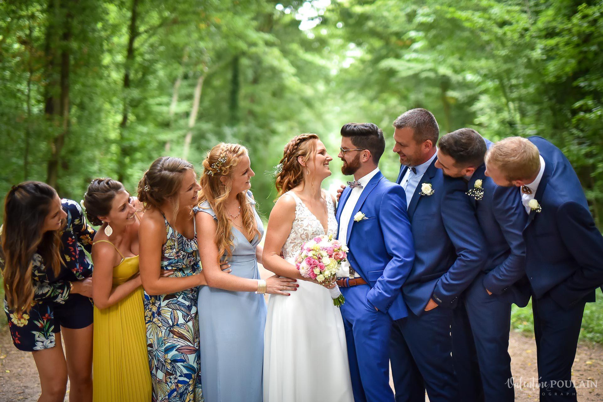 Mariage basketteurs - Valentine Poulain témoins