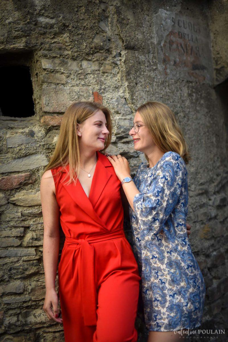 Shooting soeurs Italie - Valentine Poulain complices