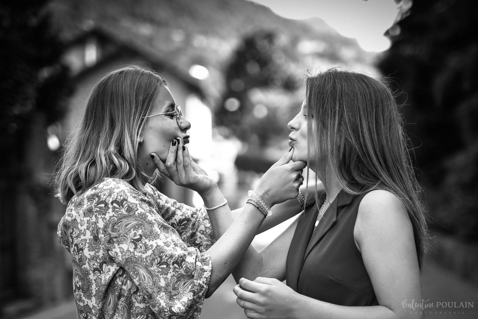 Shooting soeurs Italie - Valentine Poulain grimace