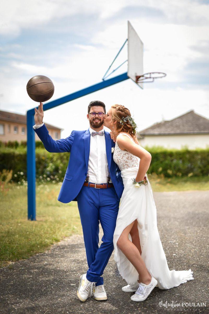 Wedding basketball - Valentine Poulain
