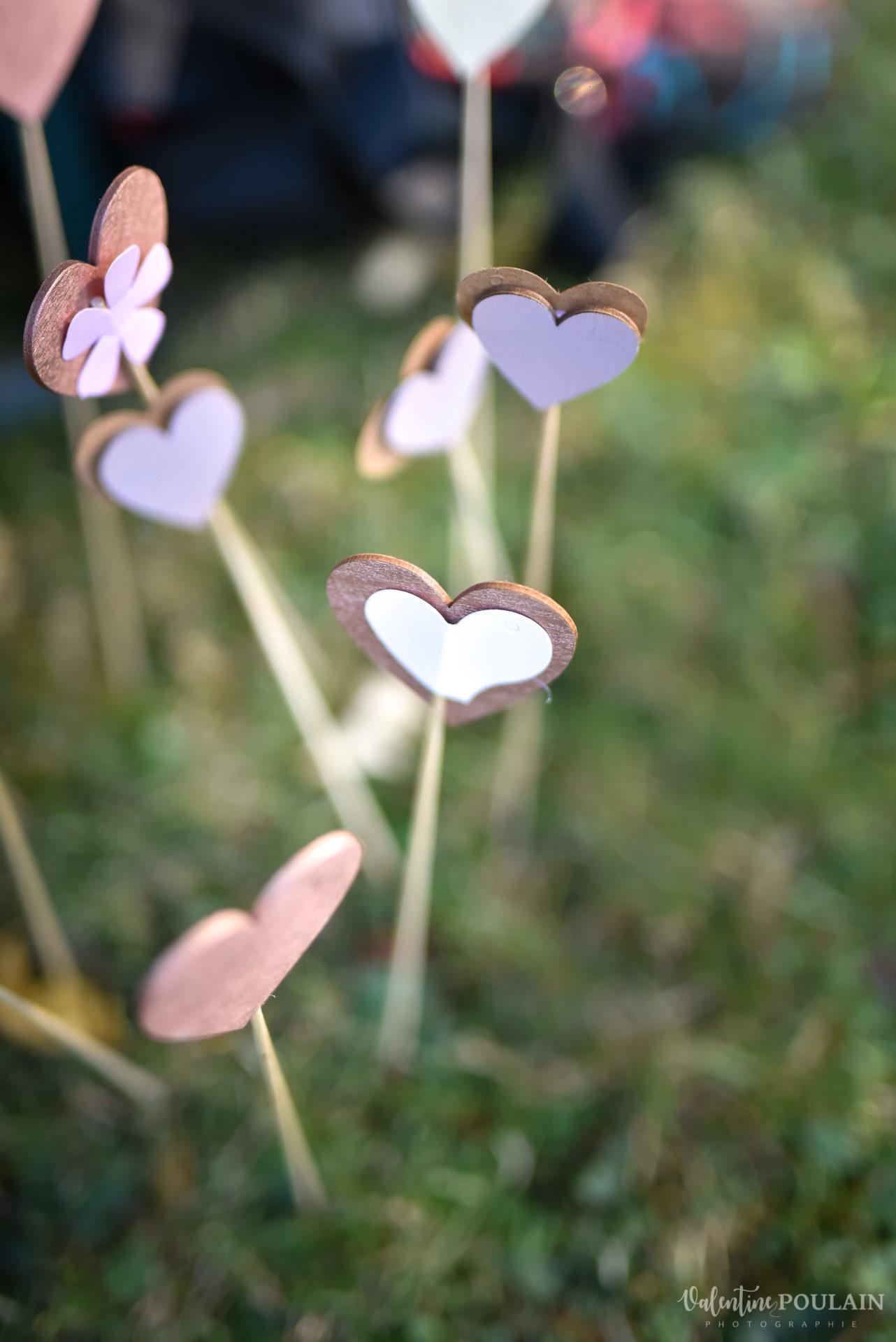 Cérémonie laïque années 20 - Valentine Poulain coeur