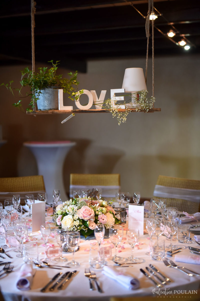 Mariage cool ferme weyerbach - Valentine Poulain table