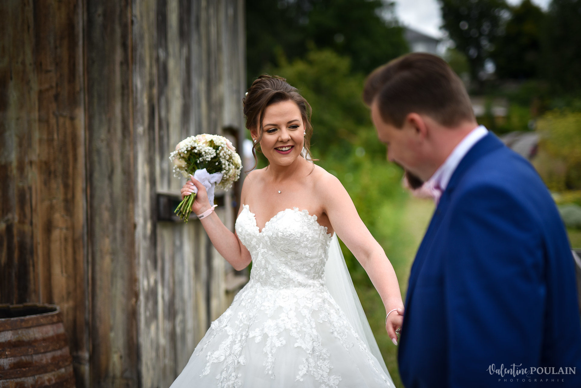 Mariage cool ferme weyerbach - Valentine Poulain first look