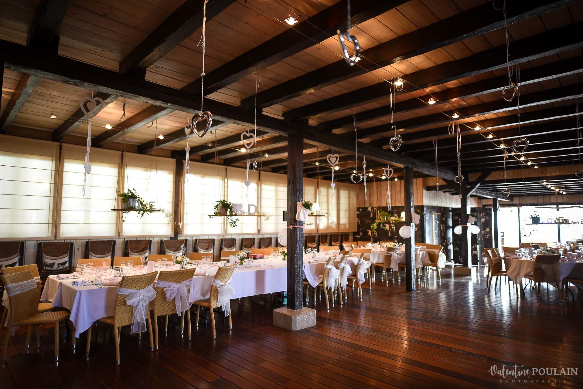 Mariage cool ferme weyerbach - Valentine Poulain salle