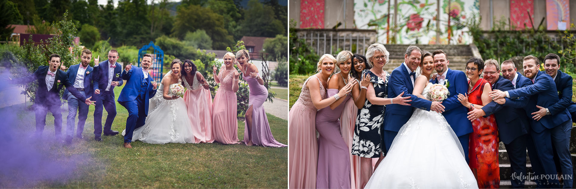 Mariage cool ferme weyerbach - Valentine Poulain proches