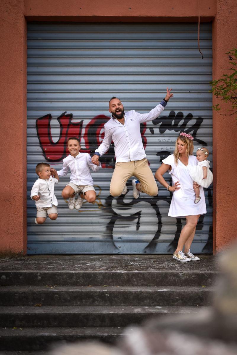 Save the date urbain famille - Valentine Poulain saut