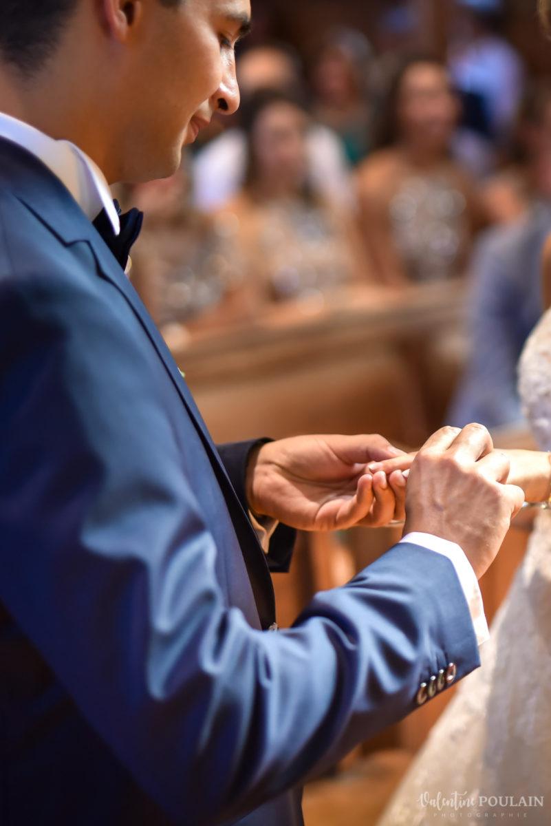 Mariage romantique Domaine Beaupré - Valentine Poulain bague