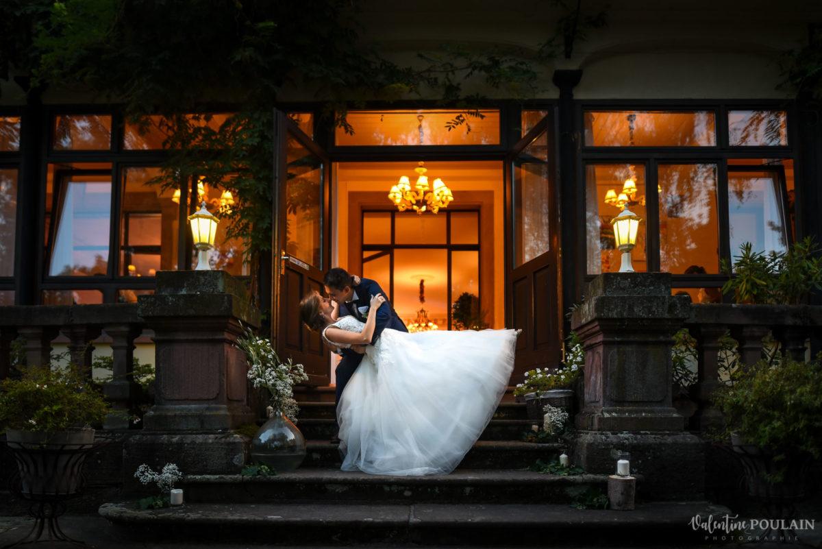 Mariage romantique Domaine Beaupré - Valentine Poulain nuit noire